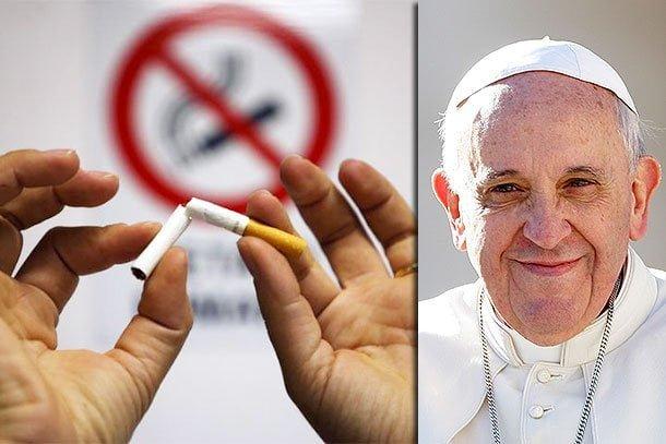 Stop fumo in Vaticano: la rivoluzione va seguita anche in Italia